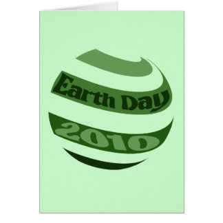 Earth Day 2010 Greeting Cards
