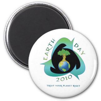 Earth day 2010 magnet