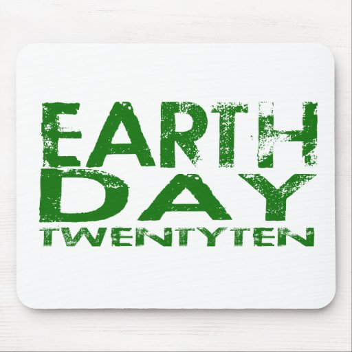 Earth Day 2010 Mouse Pads