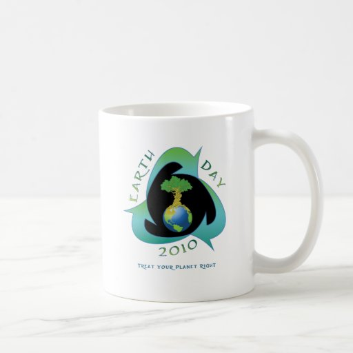 Earth day 2010 coffee mug