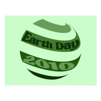 Earth Day 2010 Post Cards