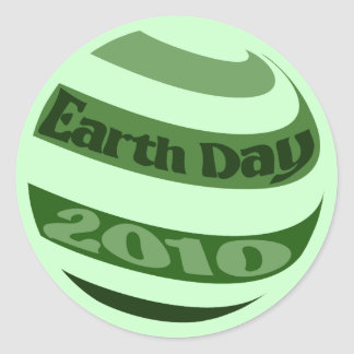 Earth Day 2010 Stickers