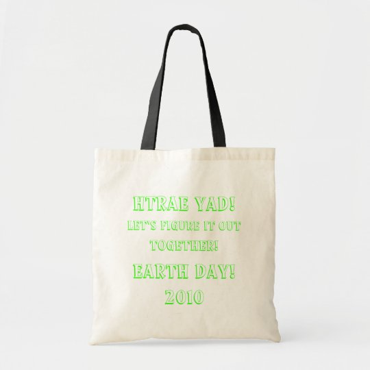 Earth Day 2010 Tote Bag
