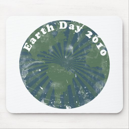 Earth Day 2010 Vintage Mouse Pad