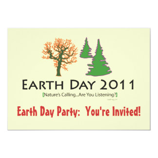 essay on earth day 2011
