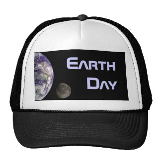Earth Day 2012 - Earth and moon Trucker Hat