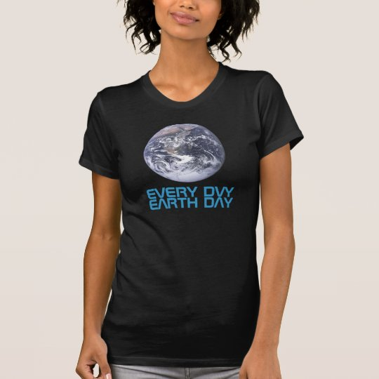 Earth Day 2012 - Earth in full view T-Shirt