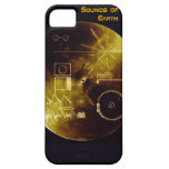 Earth Day 2012 - Sounds of Earth gold record iPhone 5 Case