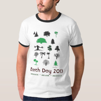 Earth Day 2013 Ringer T-Shirt
