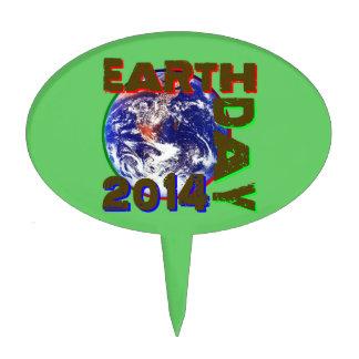 Earth Day 2014 Cake Picks