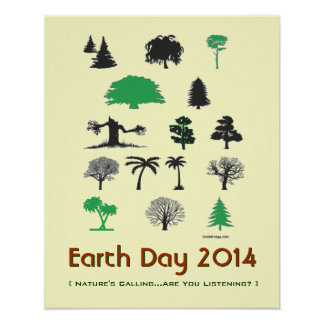 Earth Day 2014 Natures Calling Poster