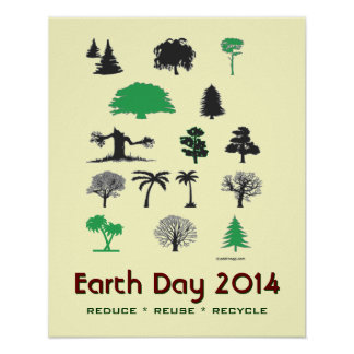 Earth Day 2014 Tree Poster