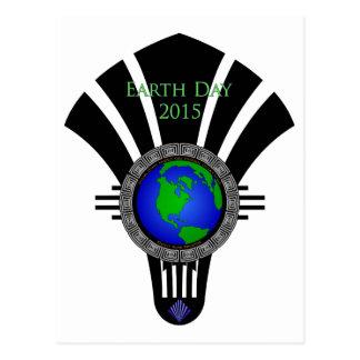 Earth Day 2015 Fan Blade Postcard