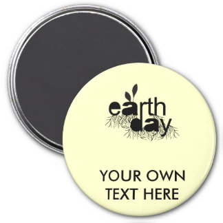 EARTH DAY 3 INCH ROUND MAGNET