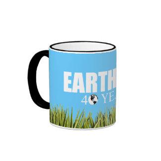EARTH DAY 40 years Coffee Mugs