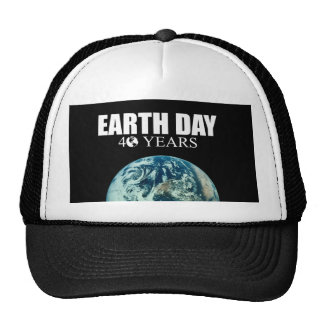 EARTH DAY 40 years Hats