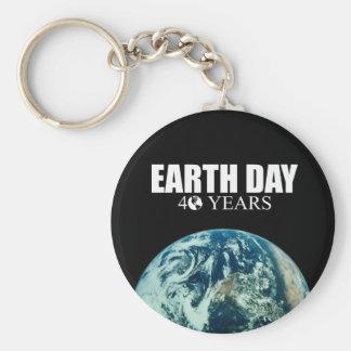 EARTH DAY 40 years Key Chain