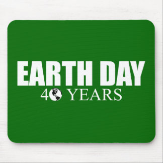 EARTH DAY 40 years Mouse Pads