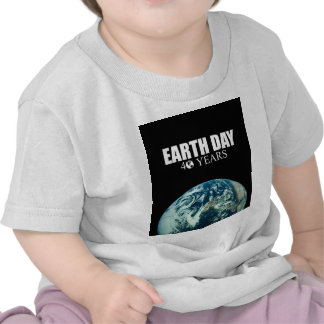 EARTH DAY 40 years Shirts