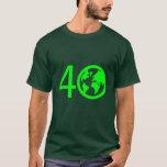 Earth Day 40 Years T-Shirt