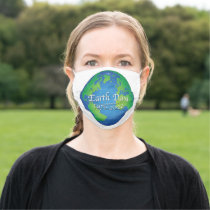 Earth Day 50 Year Anniversary 2020 Adult Cloth Face Mask