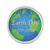 Earth Day 50 Year Anniversary 2020 Lapel Pin