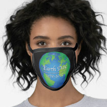 Earth Day 50 Year Anniversary Face Mask