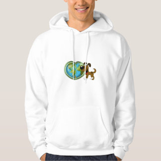 Earth Day and Boots Hoodie