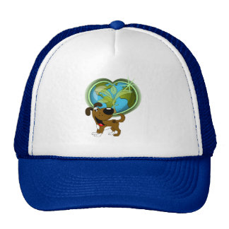 Earth Day and Boots Mesh Hat