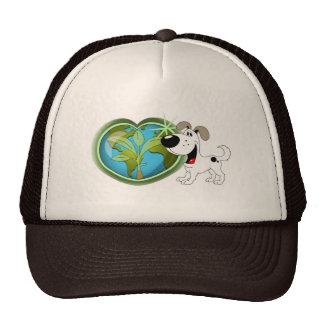 Earth Day and Cutie Mesh Hats