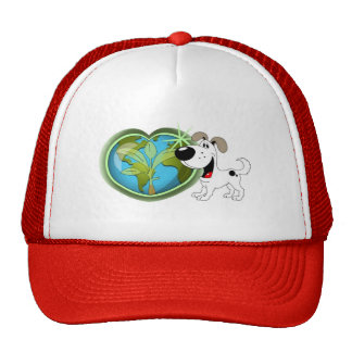 Earth Day and Cutie Trucker Hat