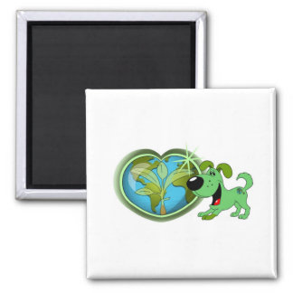 Earth Day and Leaf Magnet