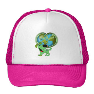 Earth Day and Leaf Trucker Hat