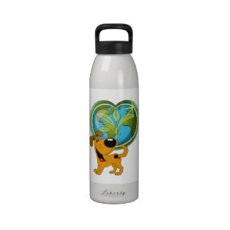 Earth Day and Pumpkin Drinking Bottle