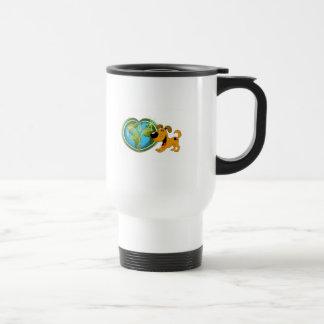 Earth Day and Pumpkin Travel Mug