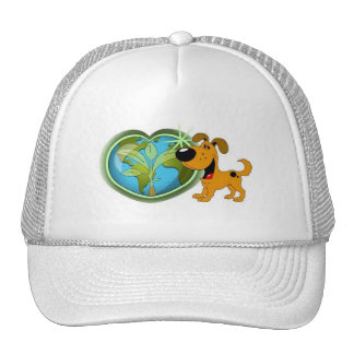 Earth Day and Pumpkin Trucker Hat