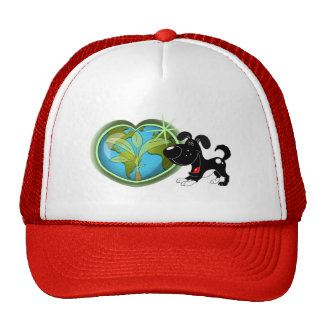 Earth Day and Shadow Trucker Hat