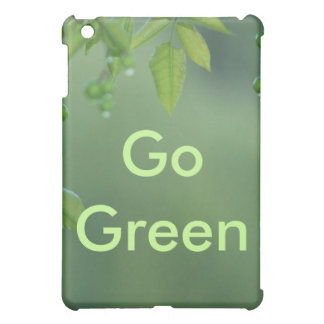 Earth day and think green cover for the iPad mini