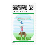 Earth Day: Animal Stack Postage Stamp