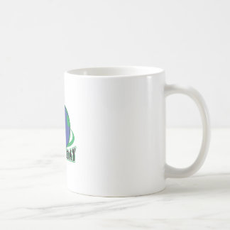 EARTH DAY APPLIQUE COFFEE MUG