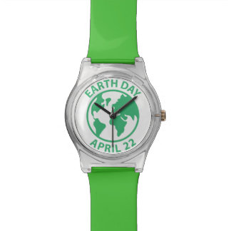 Earth Day, April 22 Watches