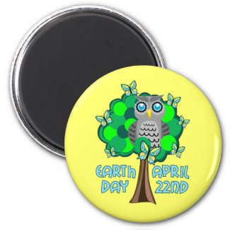 Earth Day April 22nd magnet