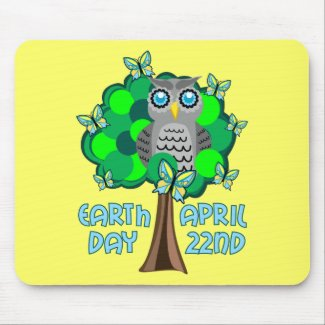 Earth Day April 22nd mousepad