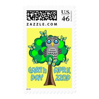Earth Day April 22nd stamp