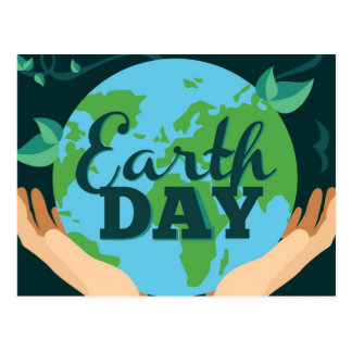 Earth Day - April 22nd Postcard