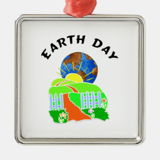 Earth Day at Home Ornament