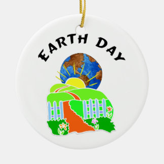 Earth Day at Home Ornaments