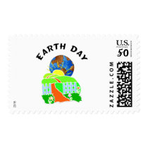 Earth Day at Home Postage