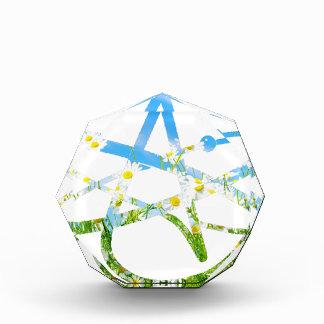 Earth Day Atheist Symbol Acrylic Award
