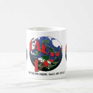 Earth day awareness, promotional mugs & cups
